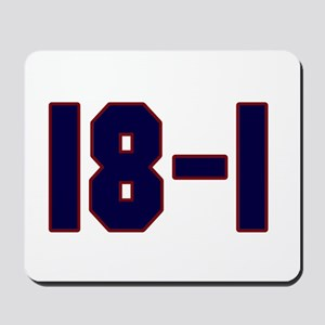 18 and 1 Mousepad