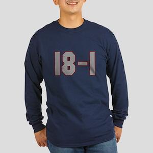 18 and 1 Long Sleeve Dark T-Shirt