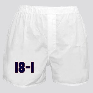 18 and 1 Boxer Shorts