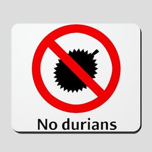 No Durian Mousepad