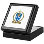 DUPUY Family Crest Keepsake Box
