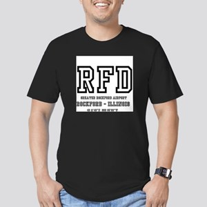 AIRPORT CODES - RFD - ROCKFORD - ILLINOIS T-Shirt