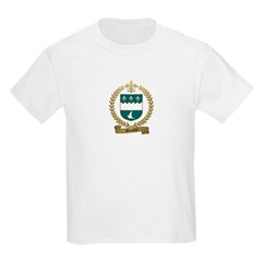 DOUARON Family Crest Kids T-Shirt