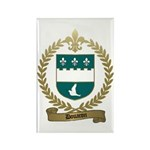 DOUARON Family Crest Rectangle Magnet