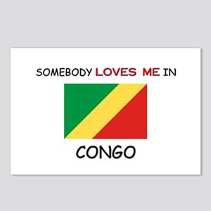 Somebody Loves Me In CONGO Postcards (Package of 8