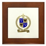 DUPONT Family Crest Framed Tile