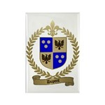 DUPONT Family Crest Rectangle Magnet (100 pack)