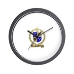 DUPONT Family Crest Wall Clock