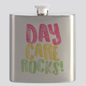 Daycare Rocks Gift Home Child Care Provider Flask