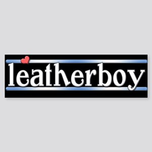 leatherboy Sticker (Bumper)