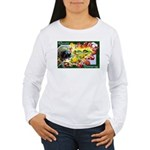 A Bountiful Thanksgiving Women's Long Sleeve T-Shi