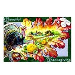 A Bountiful Thanksgiving Postcards (Package of 8)
