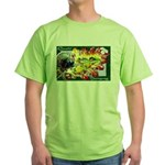 A Bountiful Thanksgiving Green T-Shirt