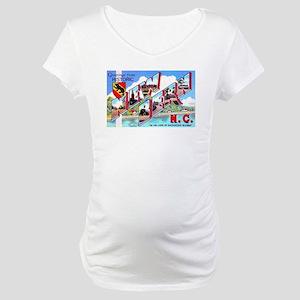 New Bern North Carolina Maternity T-Shirt