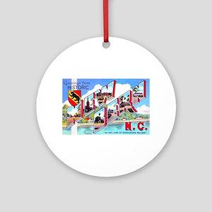 New Bern North Carolina Ornament (Round)