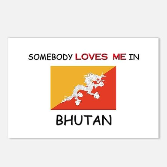 Somebody Loves Me In BHUTAN Postcards (Package of