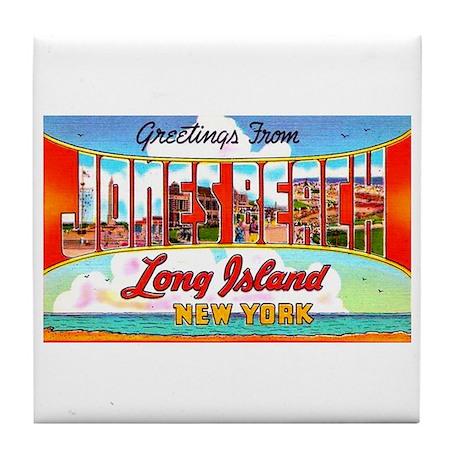 Jones Beach Long Island Tile Coaster