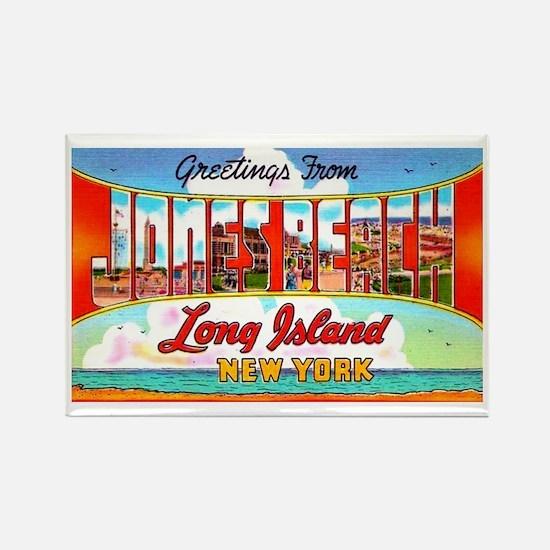 Jones Beach Long Island Rectangle Magnet