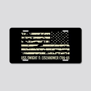 USS Dwight D. Eisenhower Aluminum License Plate