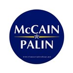 "McCain Palin 3.5"" Button"