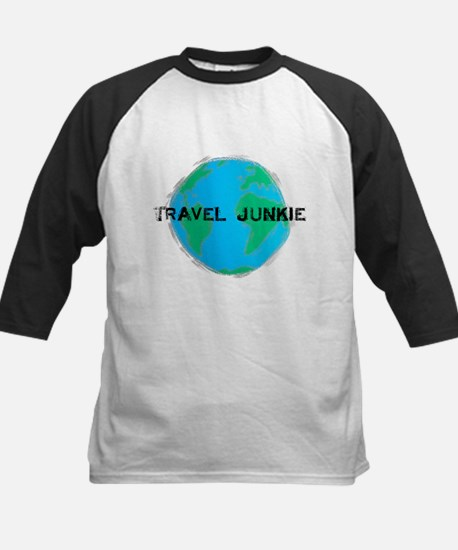 Travel Junkie Kids Baseball Jersey