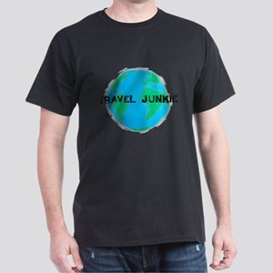 Travel Junkie Dark T-Shirt