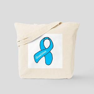 Ovarian Cancer Survivior Tote Bag