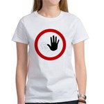 Restricted Access Sign Women's T-Shirt
