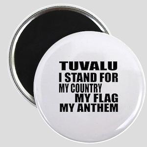 I Stand For Tuvalu Magnet