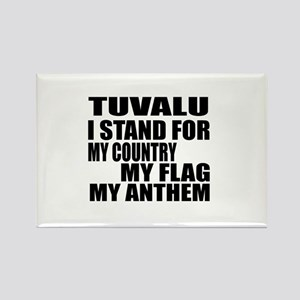 I Stand For Tuvalu Rectangle Magnet
