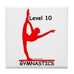 Gymnastics Tile Coaster - Level 10