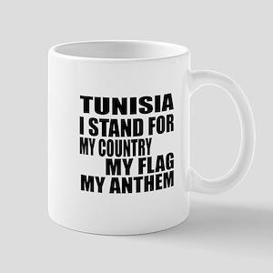 I Stand For Tunisia 11 oz Ceramic Mug