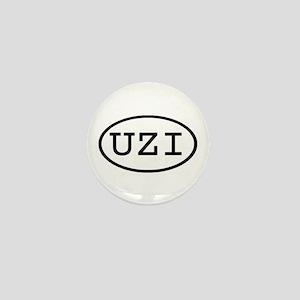 UZI Oval Mini Button