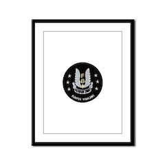 FBI Newark SWAT Framed Panel Print