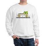 """Get Moving Skate"" Sweatshirt (gray)"