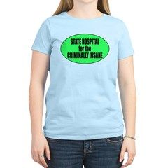 Psycho Lockup Women's Light T-Shirt