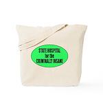 Psycho Lockup Tote Bag