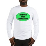 Psycho Lockup Long Sleeve T-Shirt
