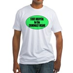 Psycho Lockup Fitted T-Shirt