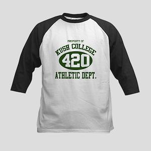 KUSH COLLEGE ATHLETIC -1 Kids Baseball Jersey