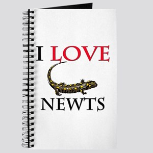 I Love Newts Journal