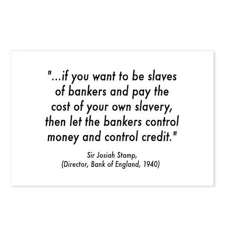 Debt Slave Postcards (Package of 8)
