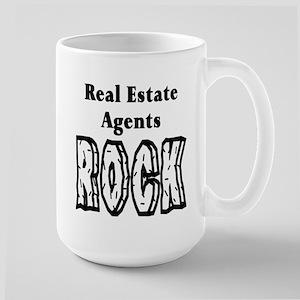 Real Estate Agents Large Mug
