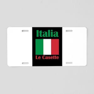 Le Casette Italy Aluminum License Plate