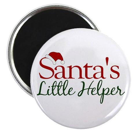 Santa's Little Helper Magnet