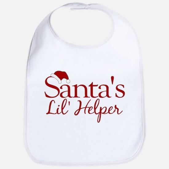 Santa's Lil Helper Bib