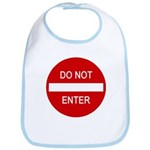 Do Not Enter Sign Bib