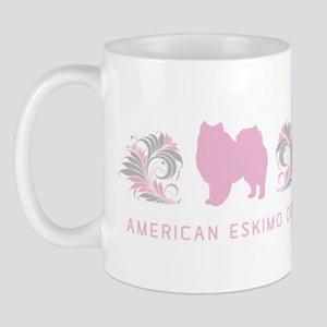 """Elegant"" American Eskimo Dog Mug"