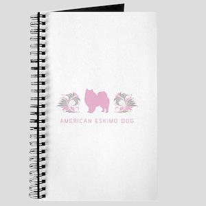 """Elegant"" American Eskimo Dog Journal"