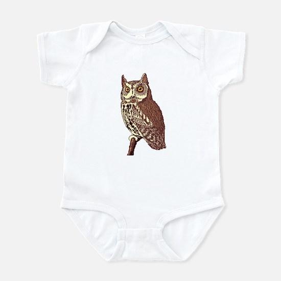Great Horned Owl 2 Infant Bodysuit
